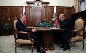 Путин Мишустин, Мишустин и президент России