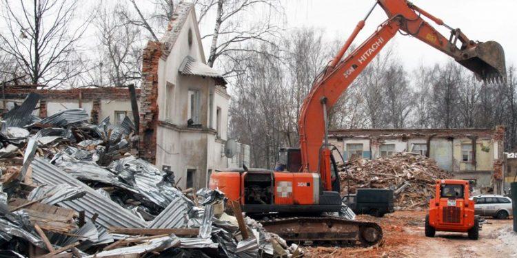 налог на снесенный дом